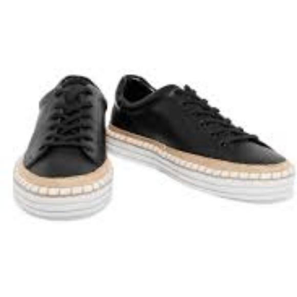 1acb8b69812f Sam Edelman Women s Kavi black Leather Sneakers